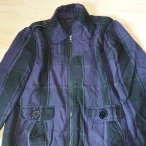 MXM Plaid Jacket Plus